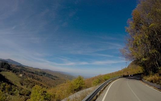 La vista sulla Valle da Potame