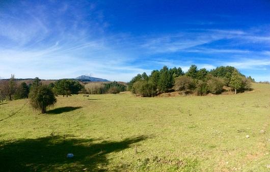 Monte Cocuzzo visto da Potame