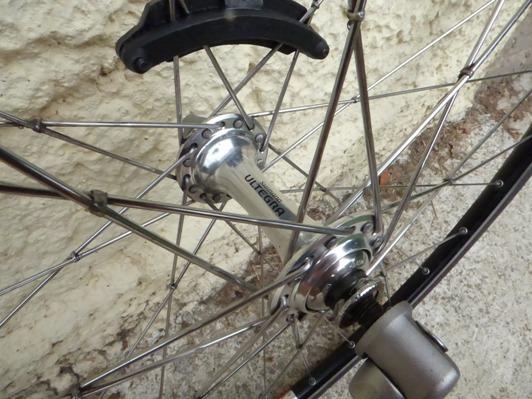 Mozzi per bici, un'immagine
