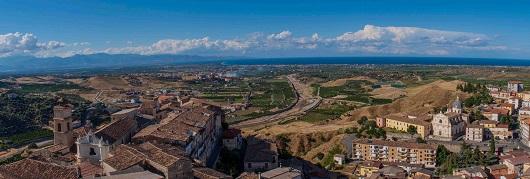 Panoramica del Castello di Corigliano