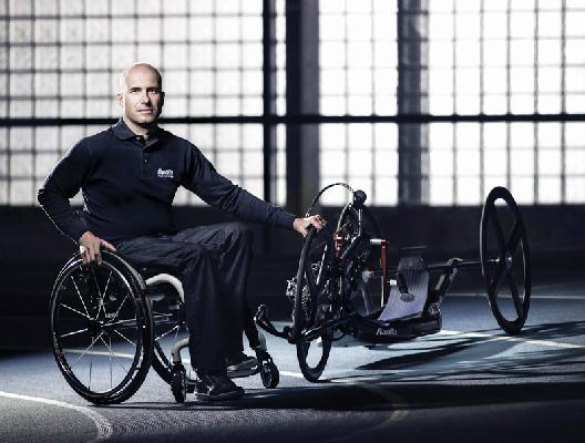 Vittorio Podestà, atleta della nazionale Italiana paralimpica