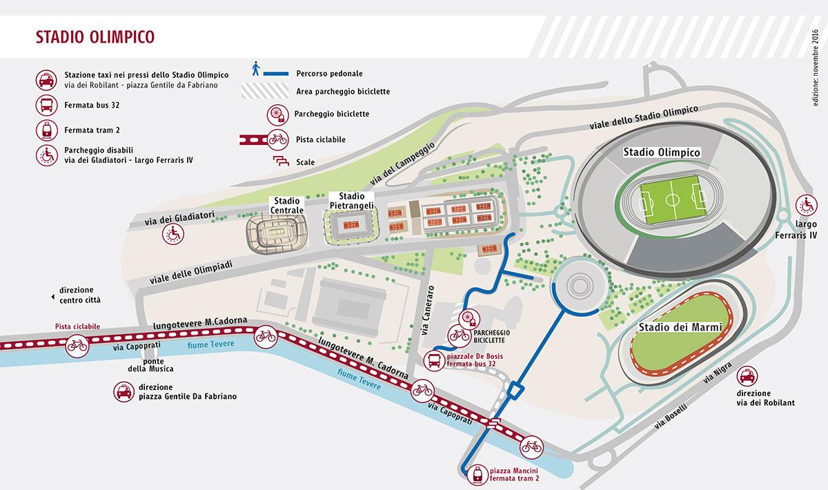 Tour dello Stadio Olimpico: è possibile visitare lo stadio ...
