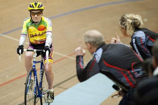 Centenarian cyclist Robert Marchand