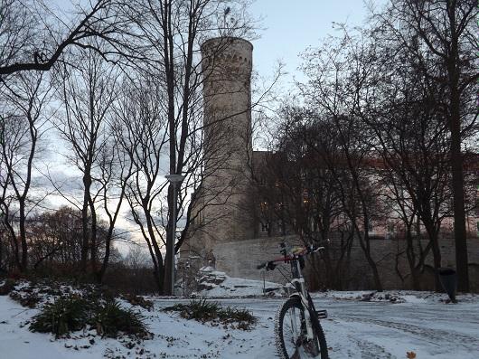 Il castello sulla collina di Toompea