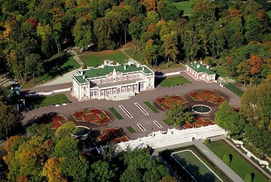 I giardini e la villa di Kadriorg