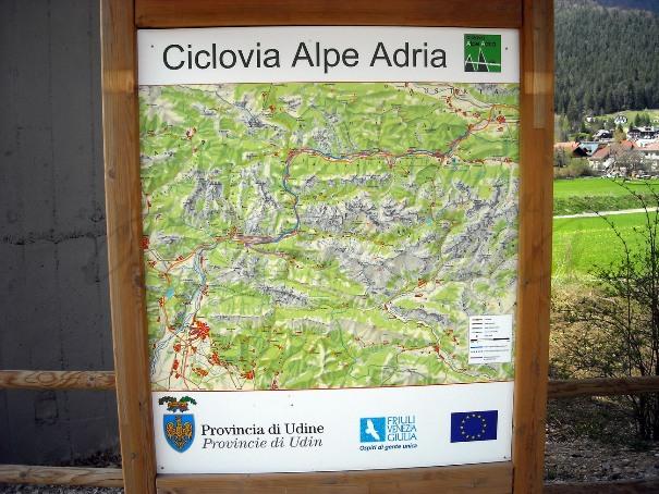 Alpe Adria percorso
