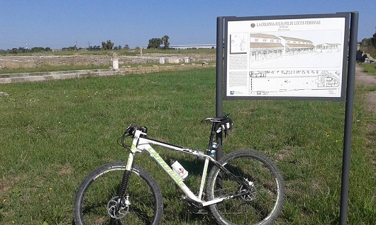 scavi archeologici di Feronia