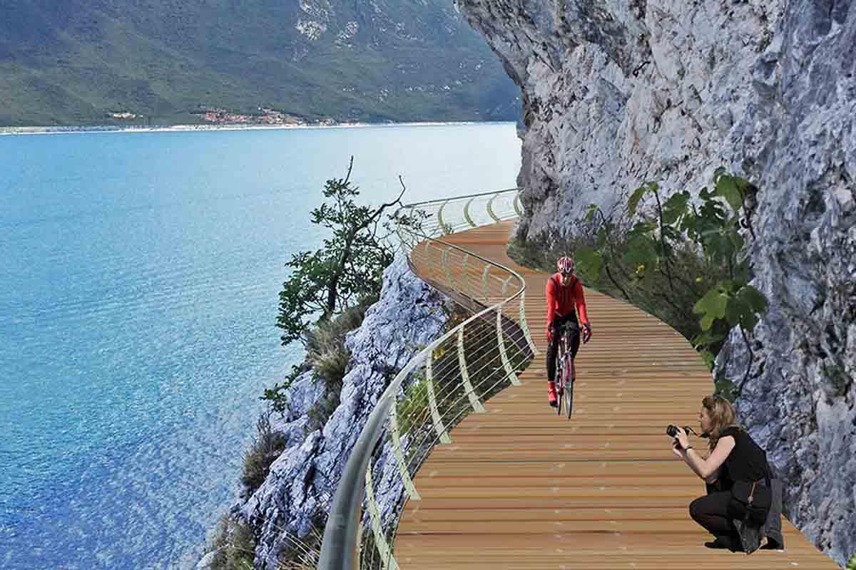 ciclabile anello lago di Garda