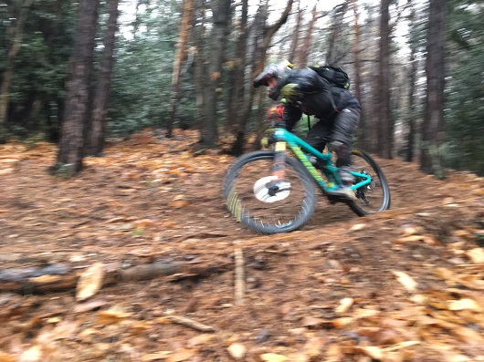 Curve in sequenza mtb