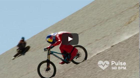 record velocità bici