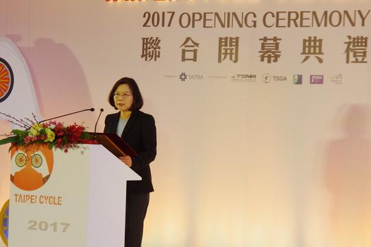 Presidente Taiwanese Tsai Ing-wen