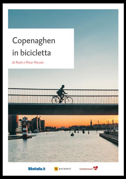 copertina ebook Copenaghen in bici