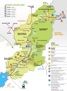 mappa valle camonica