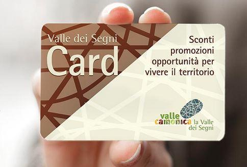 Valle dei segni Card