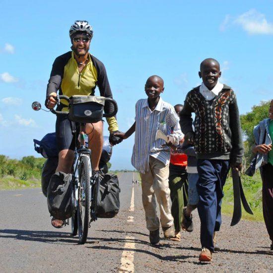 in bici in africa