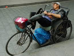 riposo in bici