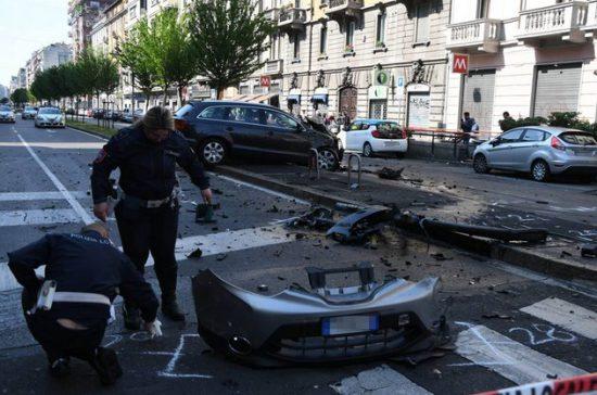 Milano, schianto mortale in viale Monza
