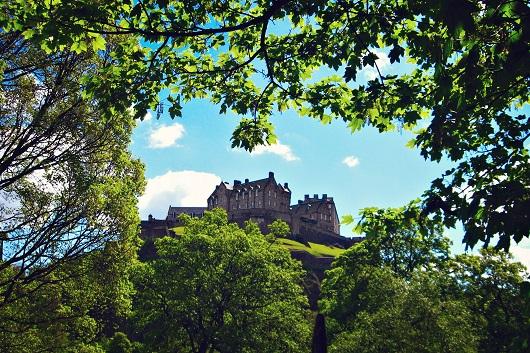 Il Castello di Edimburgo, perfetto per orientarsi nella città