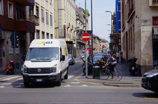 Viale Tunisia Ciclabile Ciclista