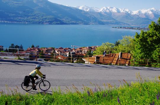 Wilier Jaroon cicloturismo lago di como