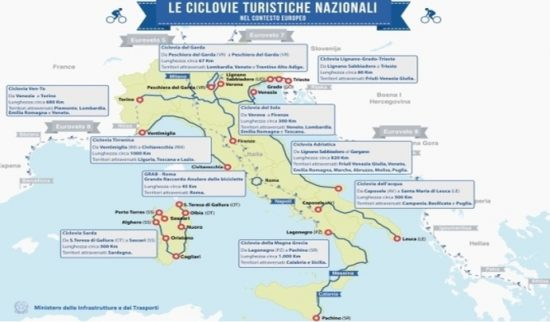 ciclovie nazionali