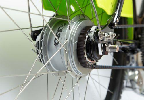 dettaglio trasmissione bici