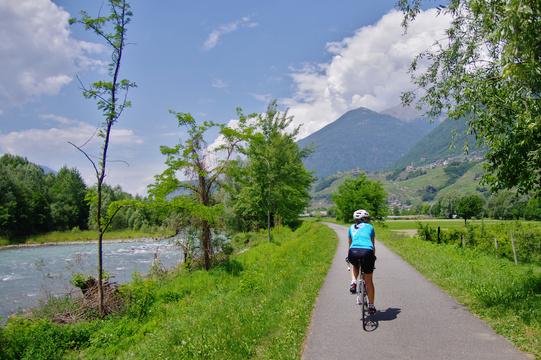 Argine Adda Sentiero Valtellina