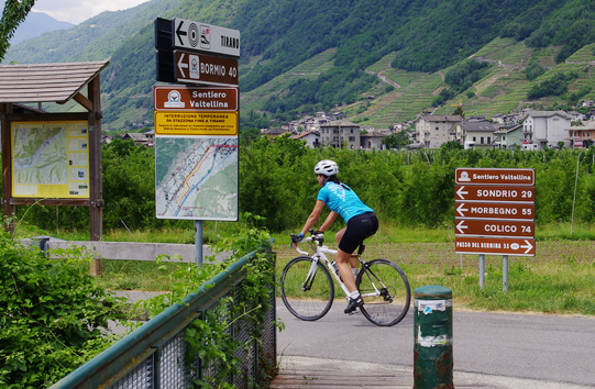 Segnaletica Sentiero Valtellina