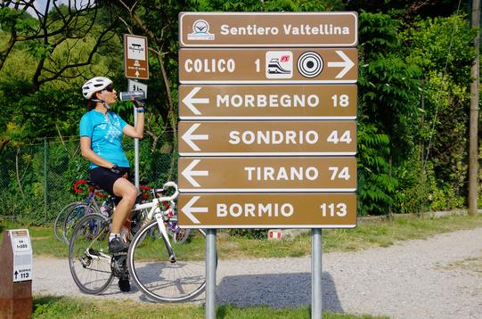 Sentiero Valtellina inizio