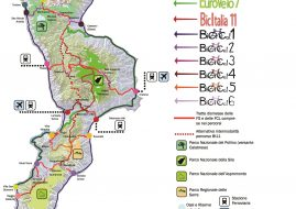 rete cicloturistica regionale calabria