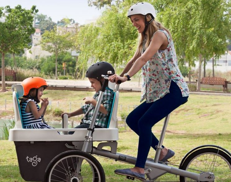 Bicicletta A Tre Ruote Stabilità E Capacità Di Carico