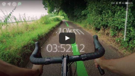 bici e realtà aumentata