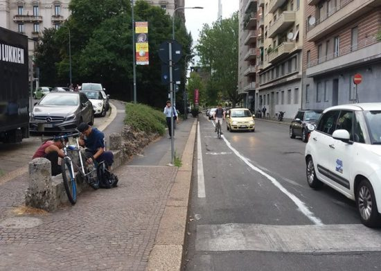 ciclabile clandestina via cartesio