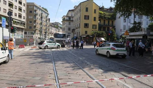 incidente Milano