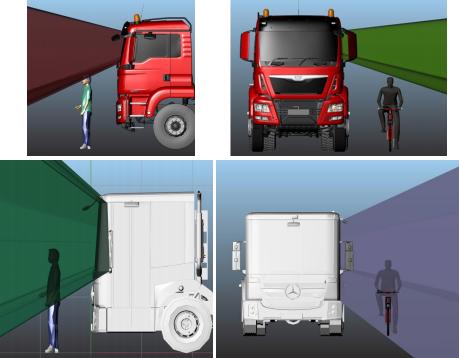 visibilità camion
