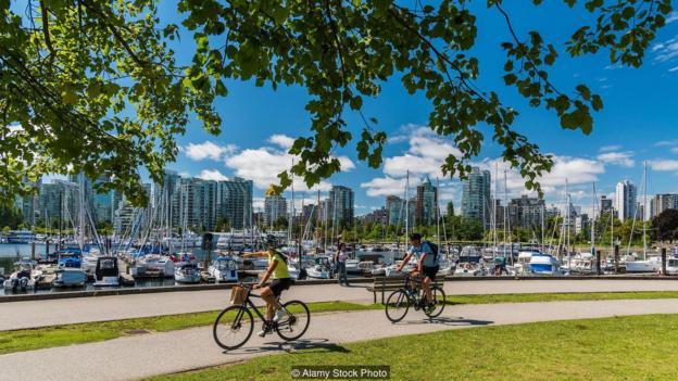 bici nel parco