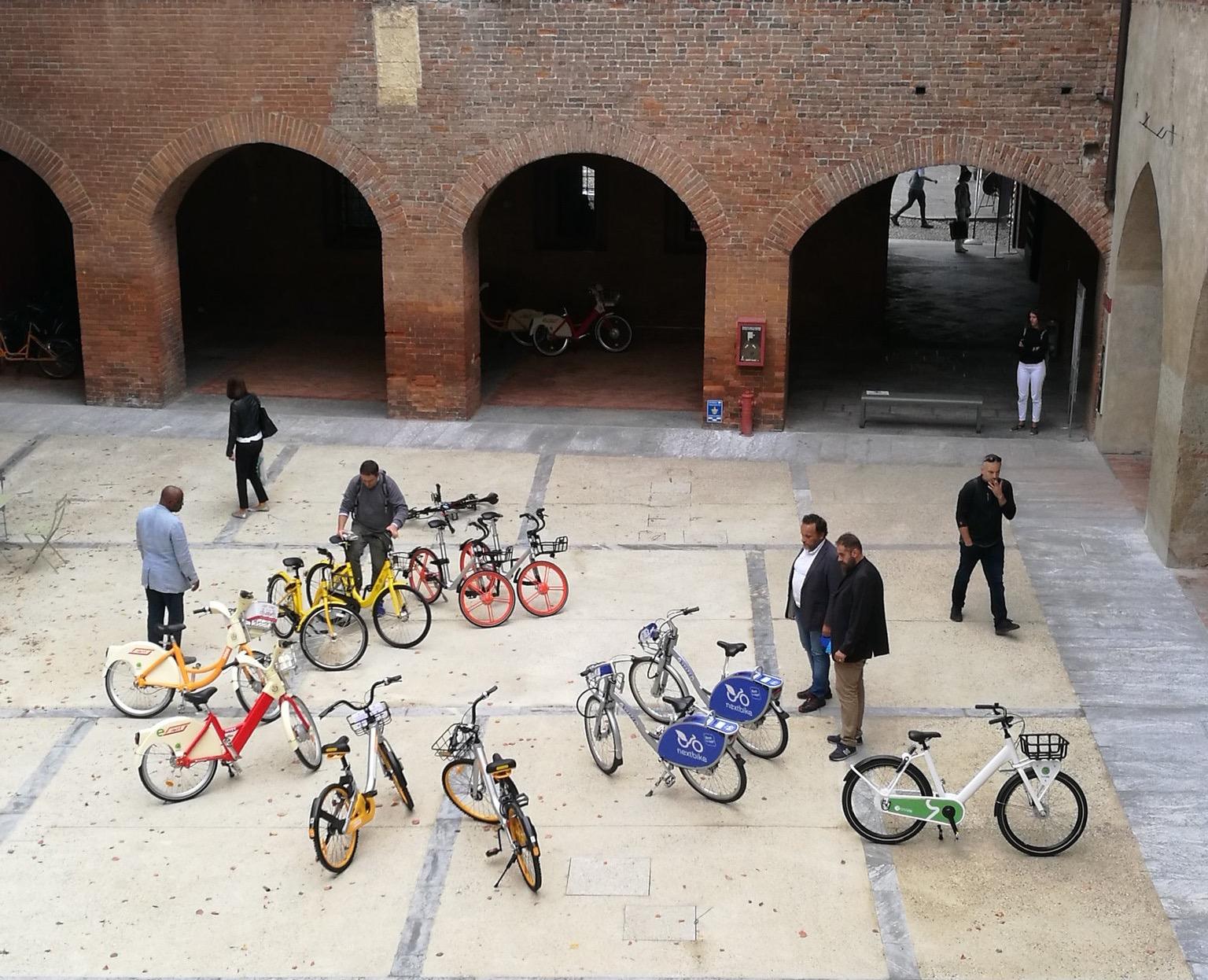 Bike sharing pavia