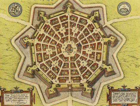 mappa Palmanova