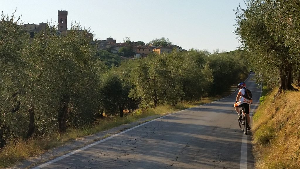 bike tour toscana