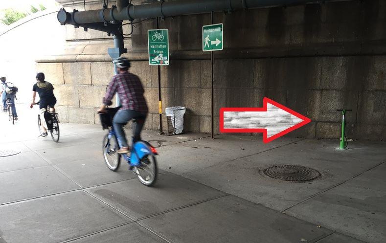 pompe bici a New York