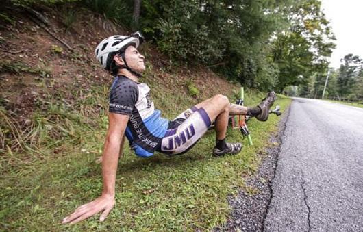 Crampi del ciclista