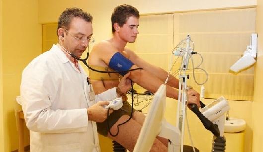 Visita medica per ciclismo
