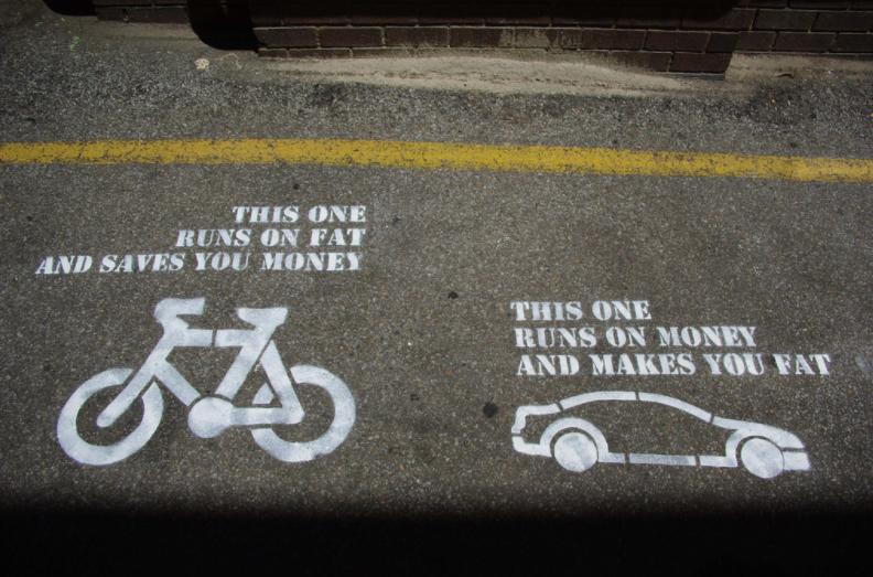bici vs auto