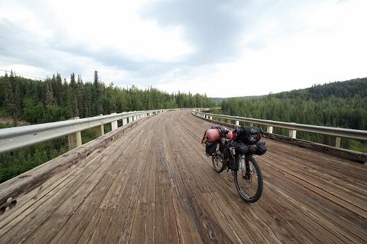 Canada bici Alaska Highway