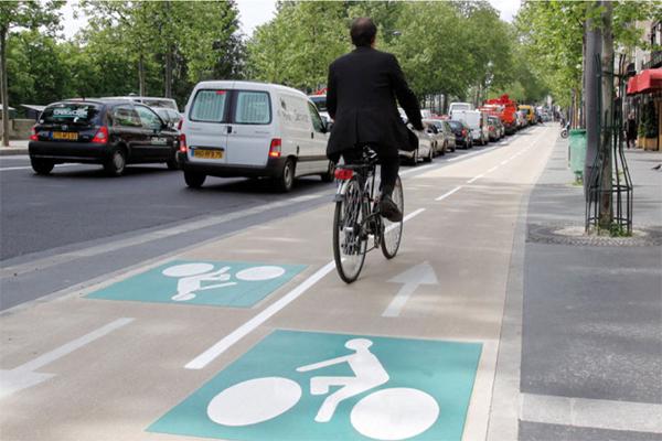 Parigi, bici