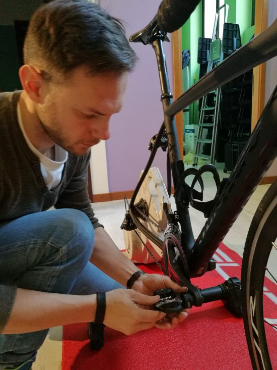 installazione pedale