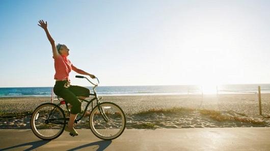 Andare in bici fa bene