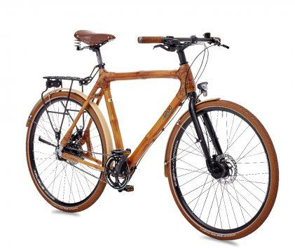 bici in bambù