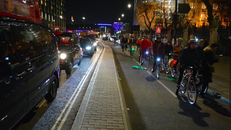 pista ciclabile Londra