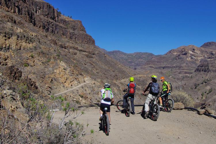 cicloturismo gran canaria in ebike
